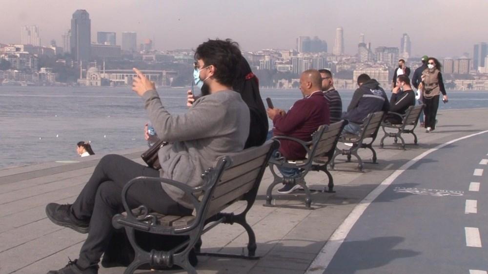 Kısıtlama yokmuş gibi! İstanbul'da sahiller doldu taştı - 9