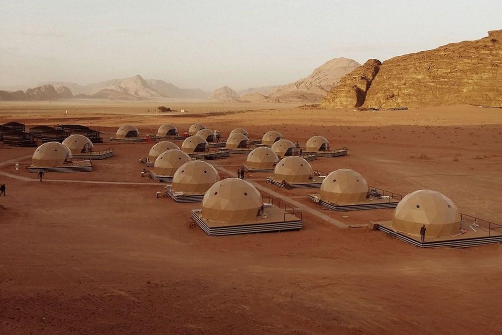 Çölde Mars deneyimi   NTV