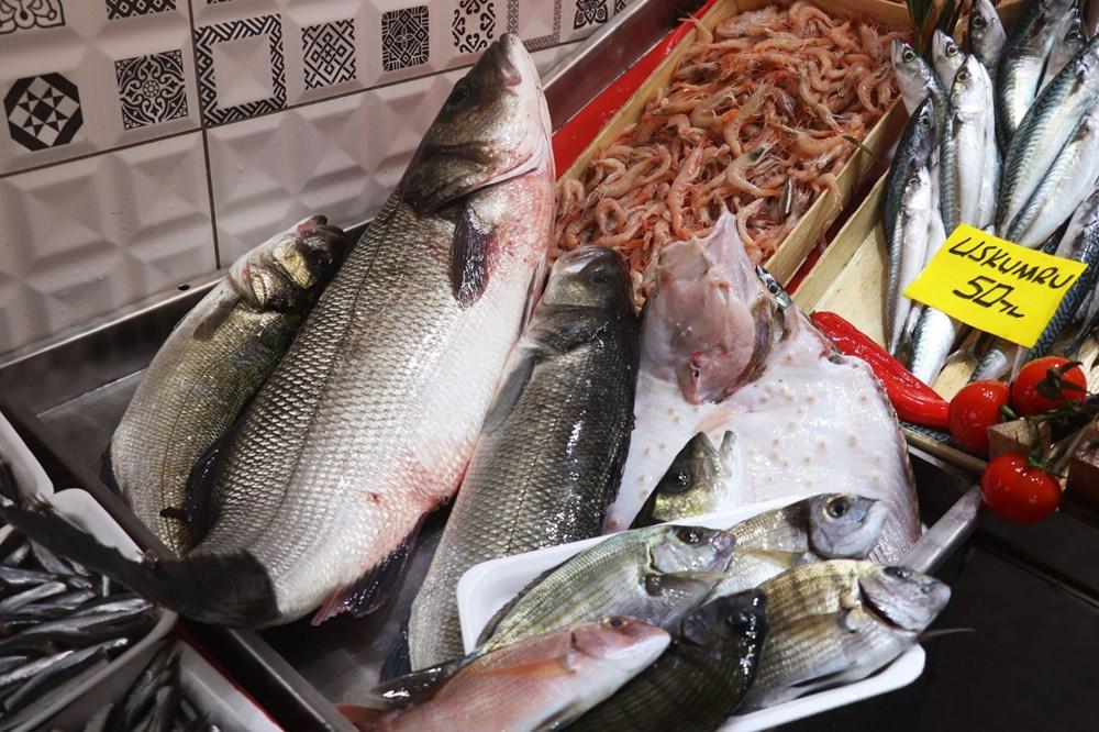 Çanakkale'de havalar ısındı balık tezgahları doldu, fiyat düştü - 13
