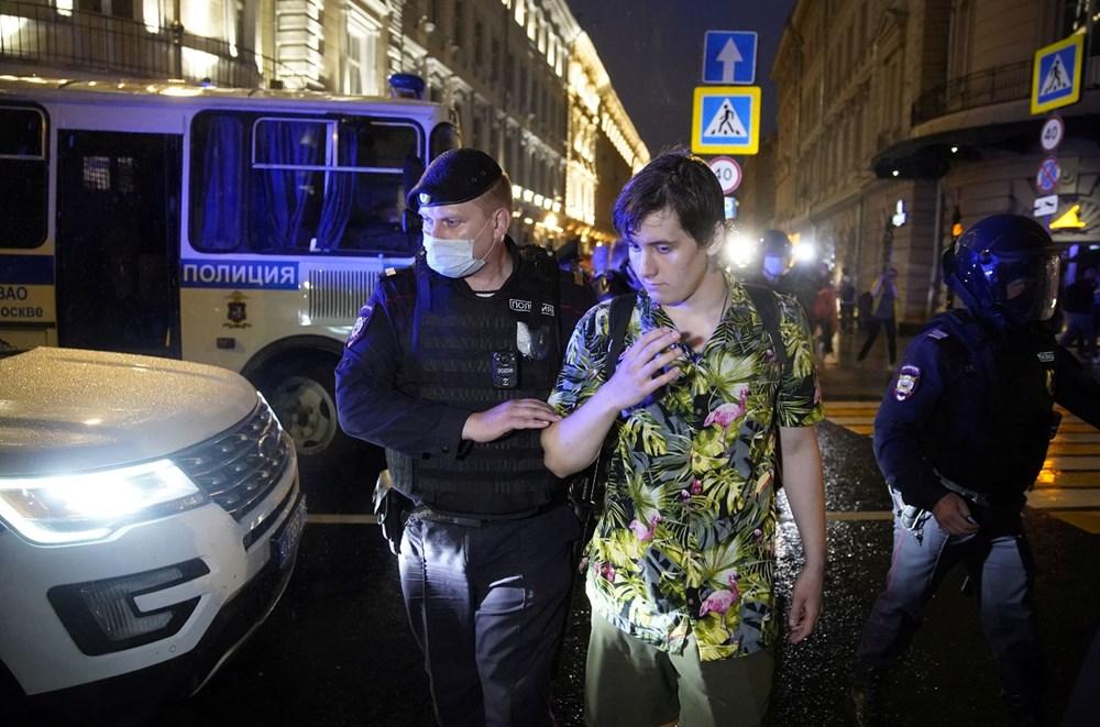 Rusya'da Putin karşıtı protesto: 130 gözaltı - 5