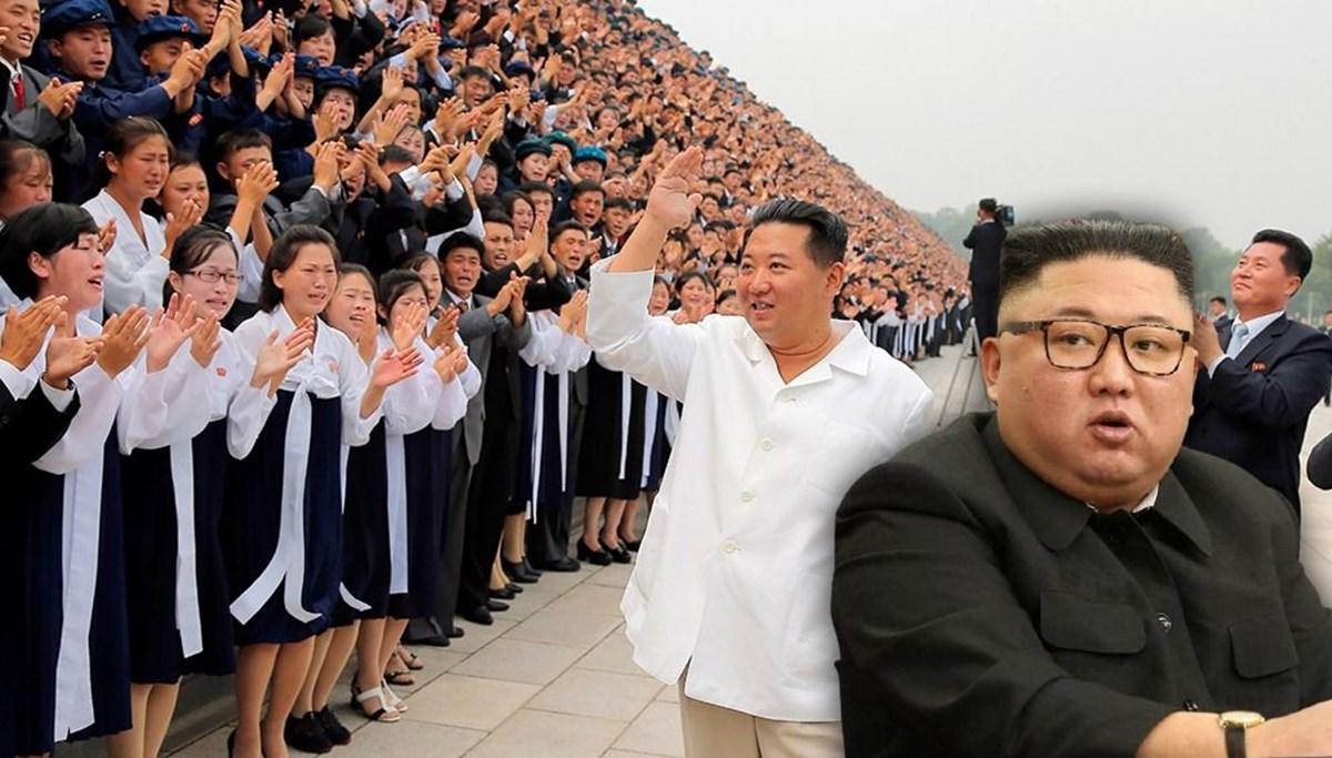 Kim Jong-Un zayıfladı, boynu ortaya çıktı