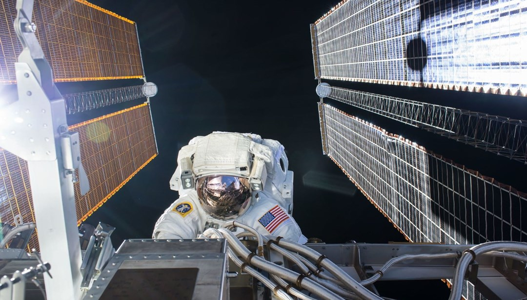 ISS'deki NASA astronotları uzay yürüyüşüne çıktı