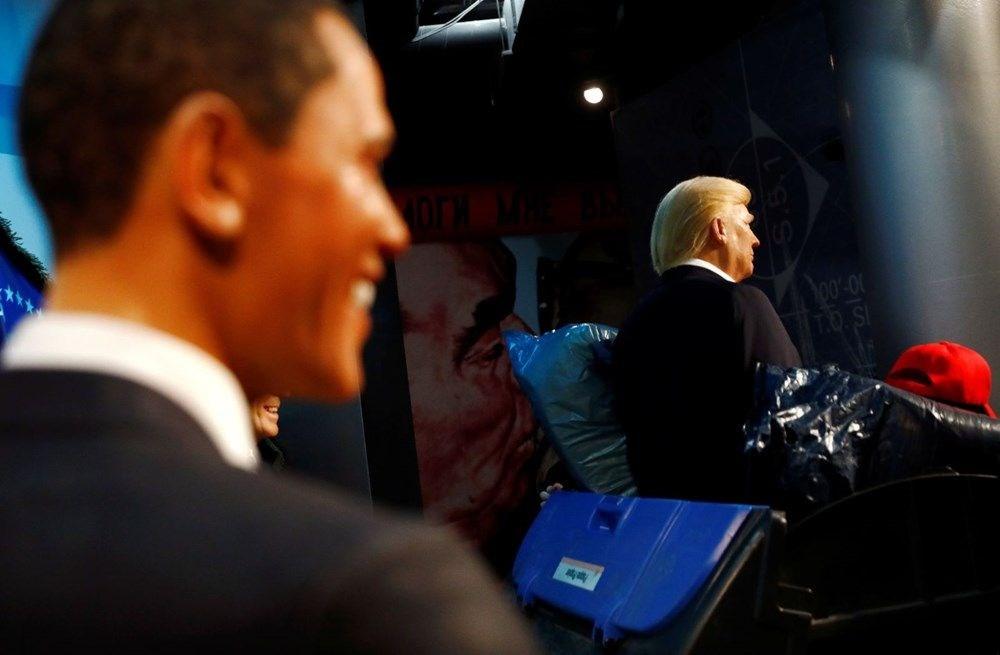 Madame Tussauds müzesinden seçimleri kaybeden Trump heykeline golf kostümü - 5