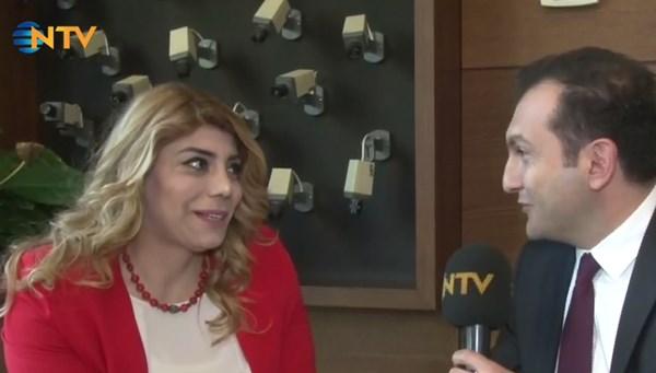 Süper Lig tarihinin ilk kadın başkanı Gözbaşı NTV'de