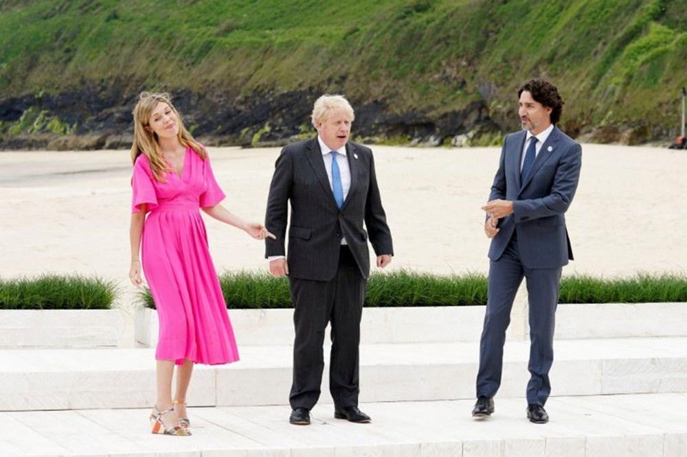 G7 ülkelerinin liderleri İngiltere'de buluştu - 6