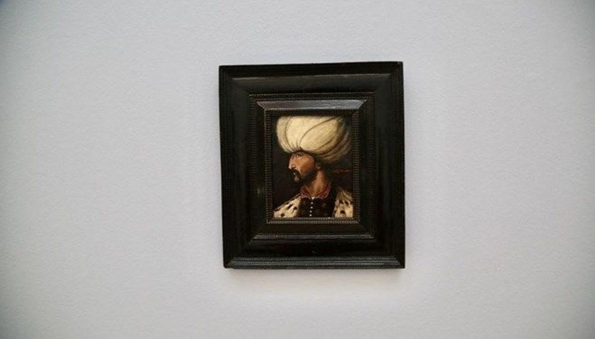 5 milyon TL'ye satılan Kanuni Sultan Süleyman portresi İBB'ye bağışlandı
