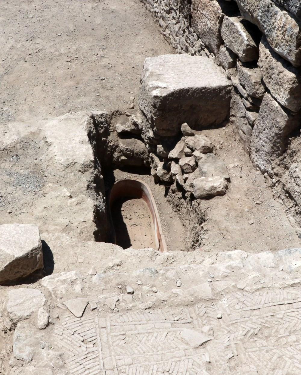 Kibyra'da ilk defa bazilikal planlı kilise bulundu - 8