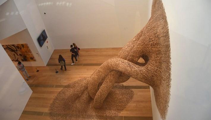 Odunpazarı Modern Müze'yi iki ayda 50 bin kişi ziyaret etti