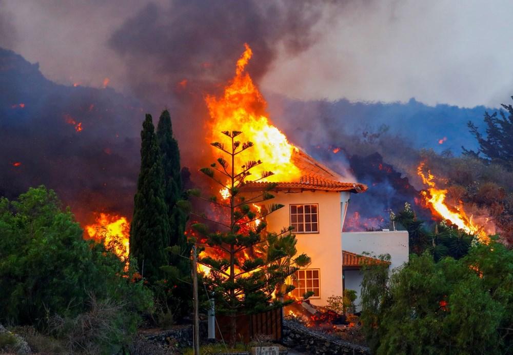 Kanarya Adaları'nda aktif hale gelen yanardağda patlamaların şiddeti arttı - 3