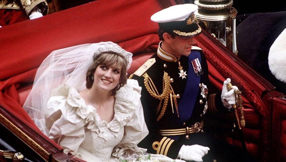 Prenses Diana ile Prens Charles'ın düğün pastası 40 yıl sonra satışa çıkarılıyor