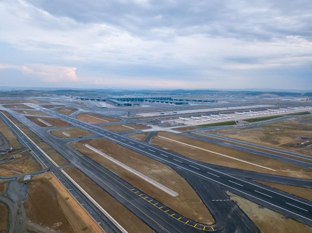 İstanbul Havalimanı'nda 3. bağımsız pist, Devlet Konukevi ve cami hizmete açılıyor - 3