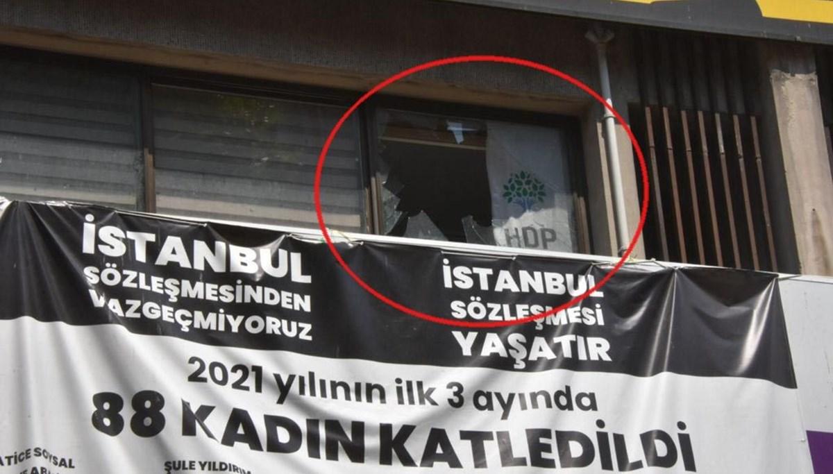 HDP İzmir il binasında silahlı saldırı: 1 kişi hayatını kaybetti
