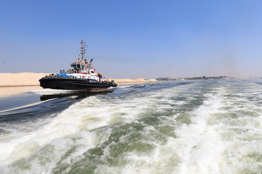 """blocking the Suez Canal """"The Ever Given"""" Headed to the Netherlands - 4"""