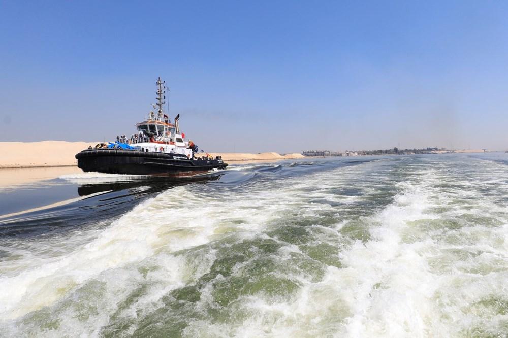 """Süveyş Kanalı'nı tıkayan """"Şimdiye Kadar Verilen"""" Hollanda'ya doğru yola çıktı - 5"""