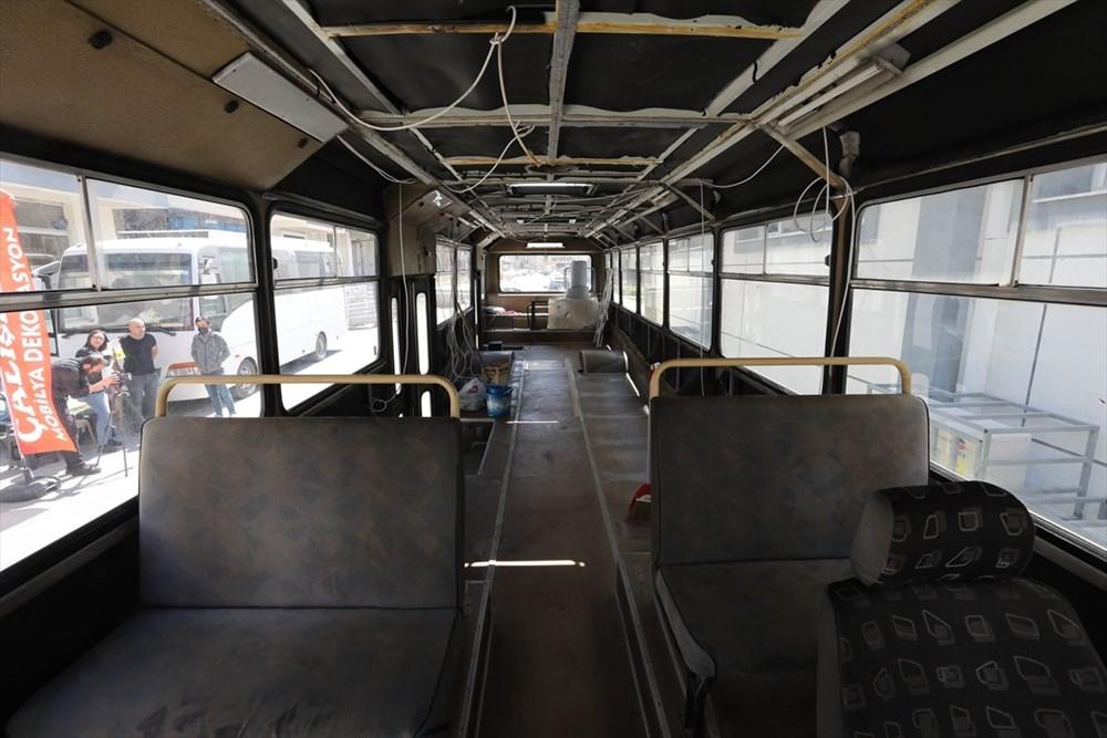 İş seyahatlerinden sıkılınca otobüsü eve çevirdi - 3