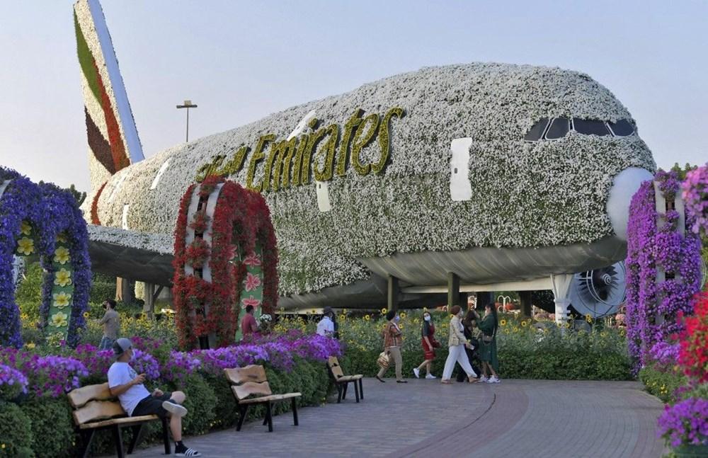 Dünyanın en büyük çiçek bahçesi Dubai'de açıldı - 10