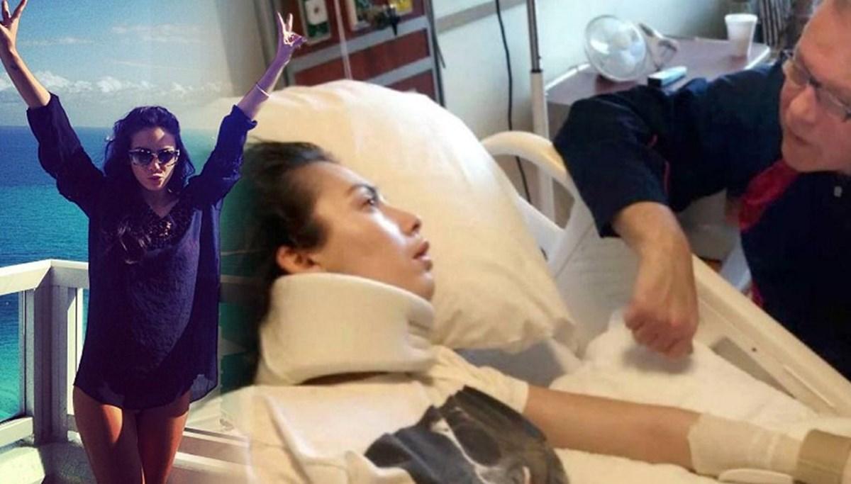 Felç kalan oyuncu Chantel Giacalone'nin ailesine 29 milyon dolar tazminat