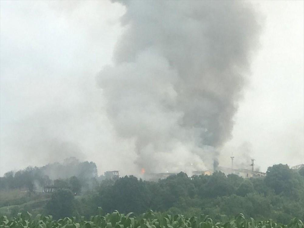 Sakarya'da havai fişek fabrikasındaki patlamadan fotoğraflar - 18