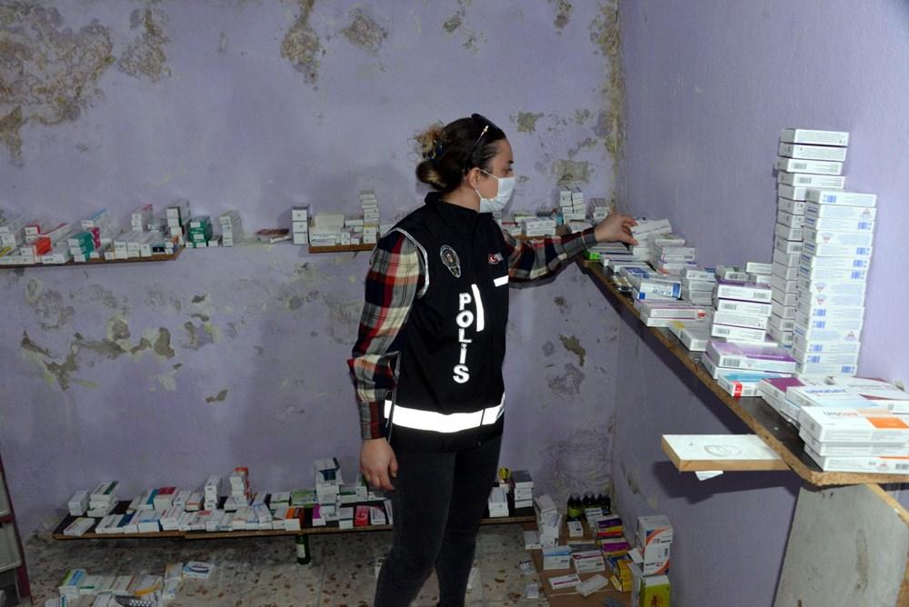 Suriyelilerin işlettiği 6 kaçak kliniğe polis baskını - 1