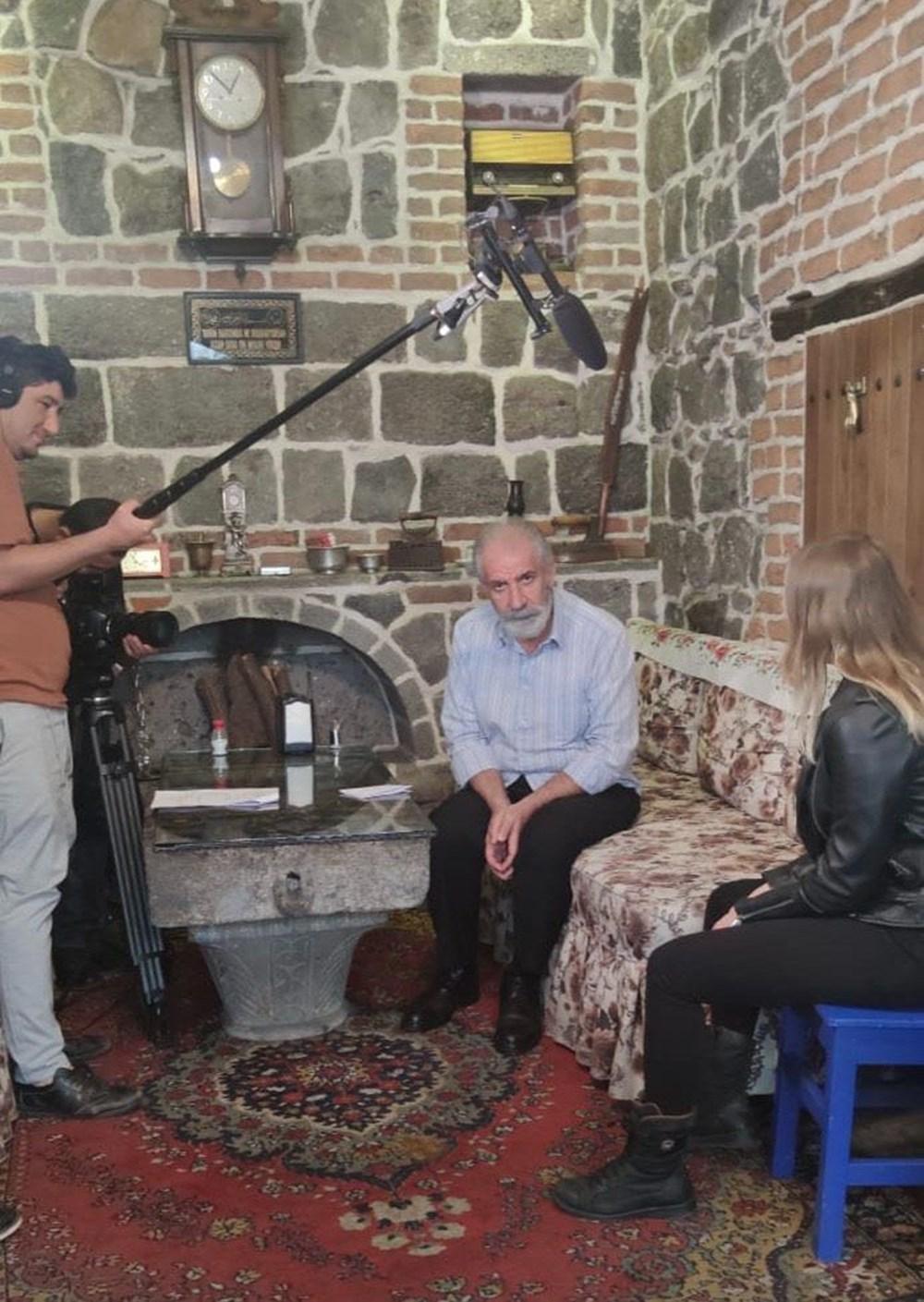 Diyarbakır'ın tarihi mekanları dizi çekimleri için doğal plato oldu - 7