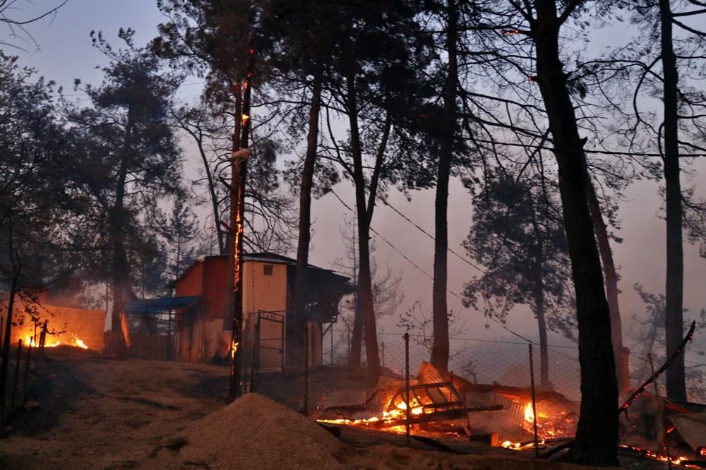 Adana'da orman yangını: 8 köy boşaltıldı - 2