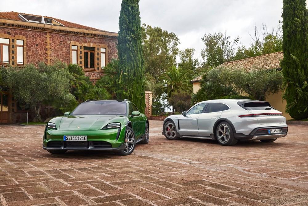 Porsche'den, elektrikli otomobil konseptine yeni boyut: Taycan Cross Turismo tanıtıldı - 1