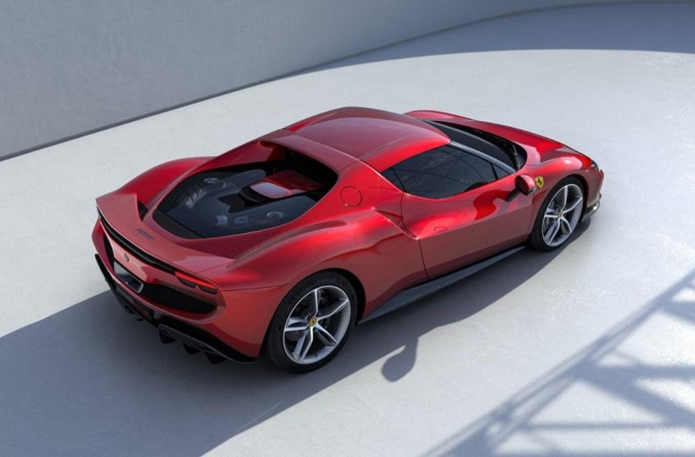 830 beygirlik hibrit Ferrari 296 GTB tanıtıldı - 3