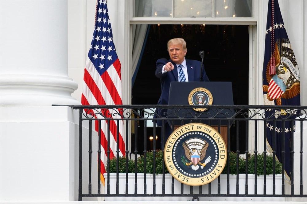 Trump Beyaz Saray'dan halka seslendi - 4
