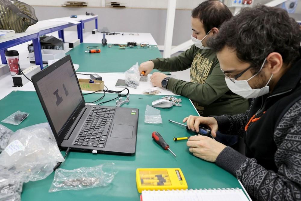 Türkiye'nin yeni İHA fabrikası üretime başladı - 10