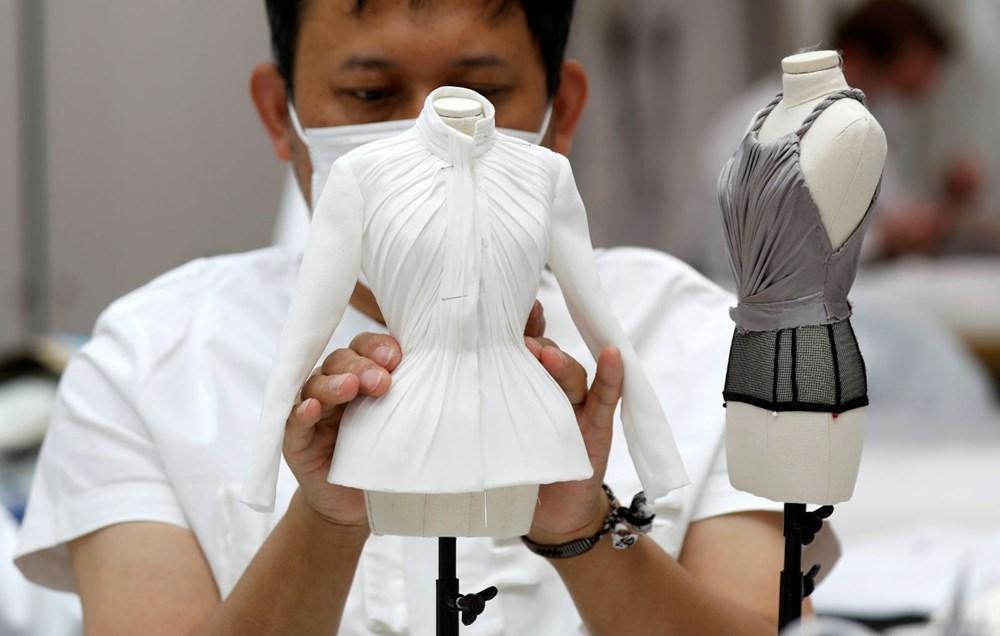 Dior'dan Dijital Moda Haftası için minyatür elbise tasarımları - 8