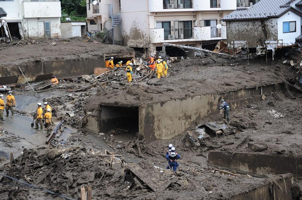 Japonya'daki sel felaketi: Ölü sayısı 7'ye yükseldi - 7