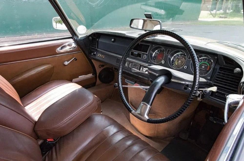 Bir klasik daha elektriklendi: 1971 model Citroen DS - 3