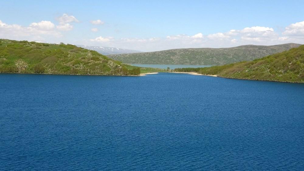 Muş'ta Hamurpet Gölleri görenleri doğasıyla mest ediyor - 11