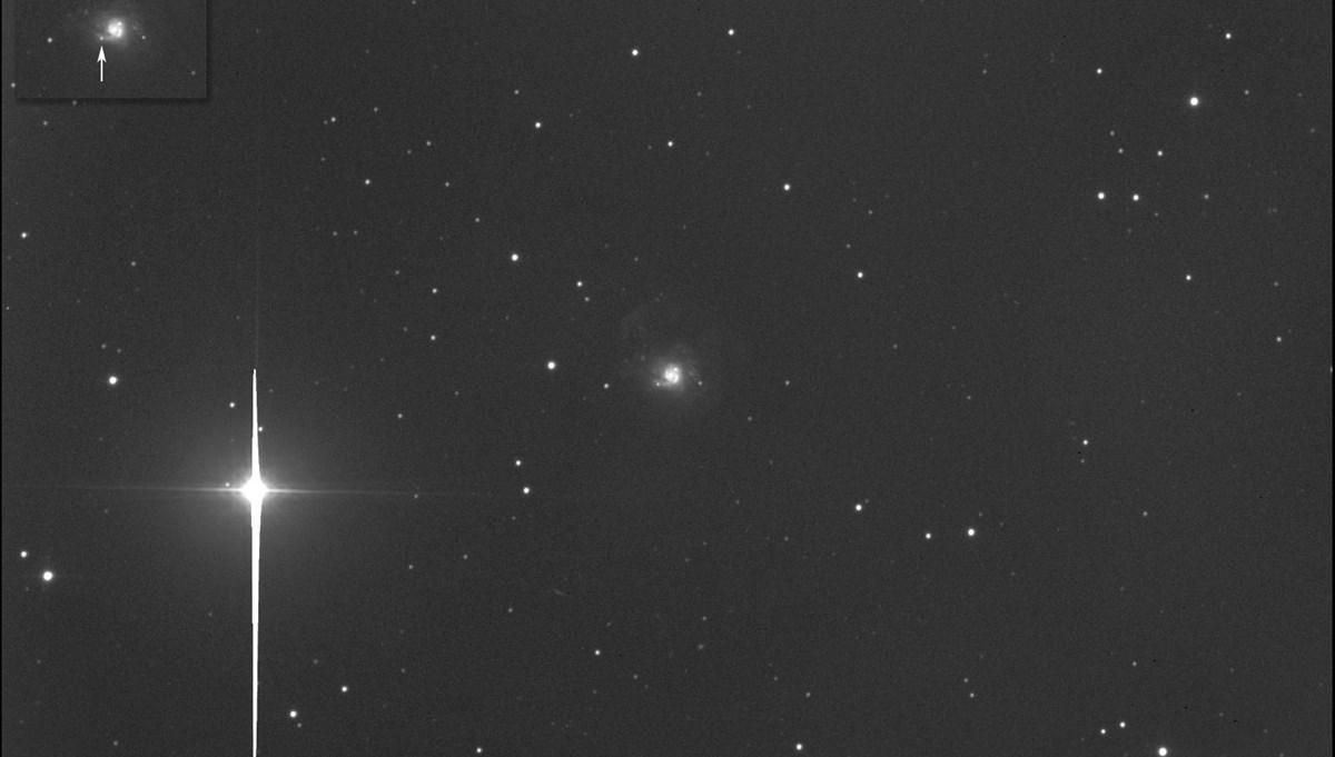 Kanadalı astrofizikçi 35 milyon ışık yılı uzaklıkta süpernova keşfetti