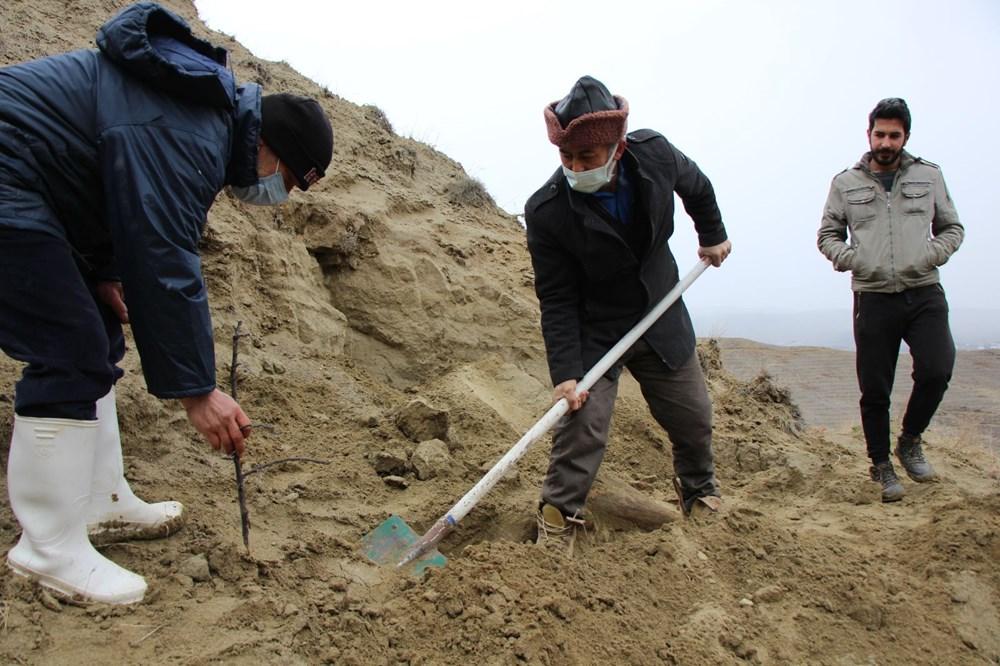 Amasya'da bulunan cisimler için mamut fosili heyecanı - 7
