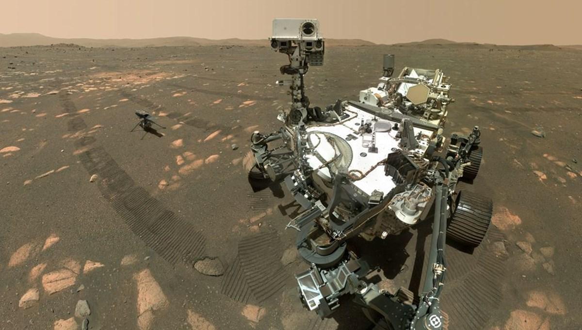 Perseverance Mars'ta 100 gün geçirdi: Kızıl Gezegen'den en etkileyici fotoğraflar