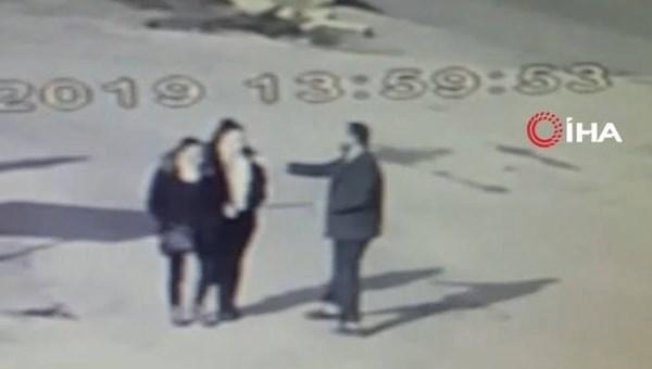 Edirne'de sokak ortasında kimyasallı saldırı