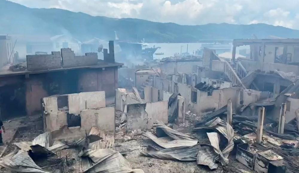 Honduras'ta yangın: En az 90 ev küle döndü - 4