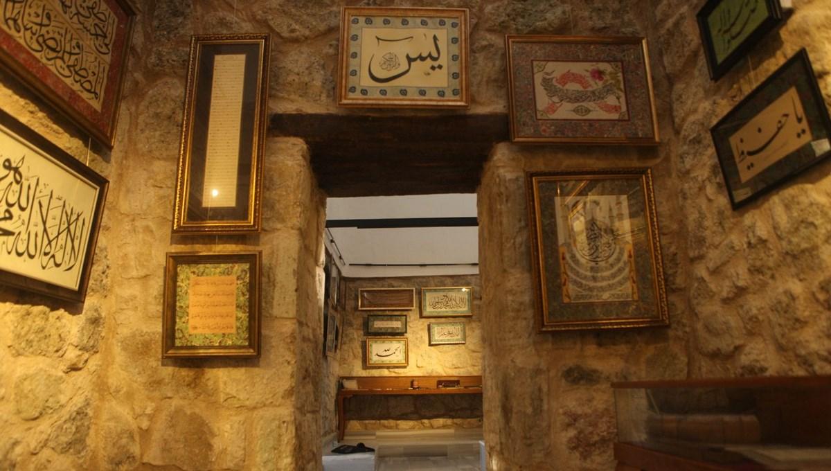 Atıl tarihi Sultan Baba Hamamı hat müzesine dönüştü