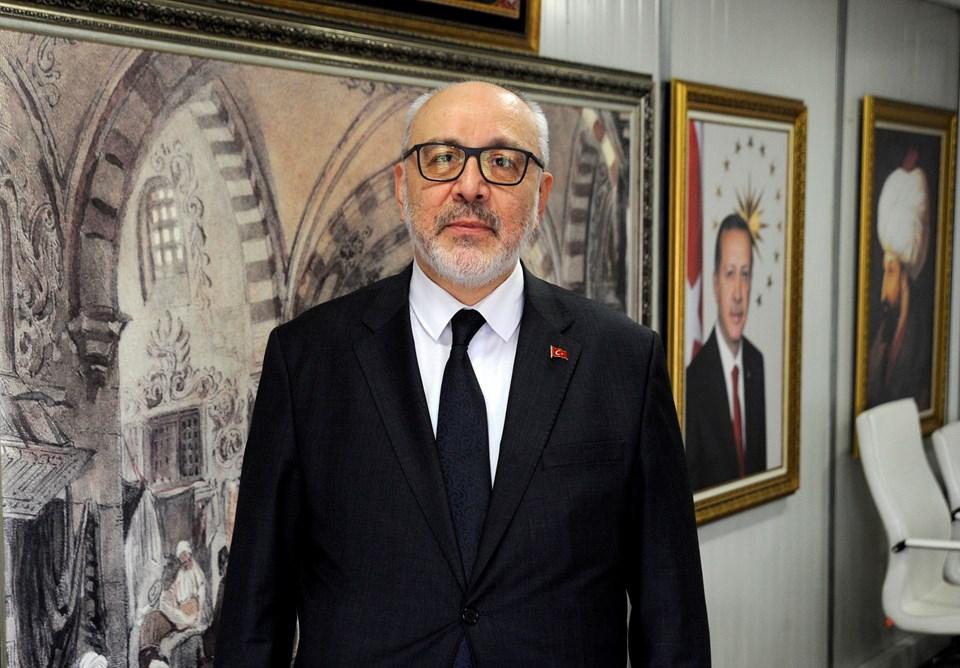 Kapalıçarşı Yönetim Kurulu Başkanı Fatih Kurtulmuş.