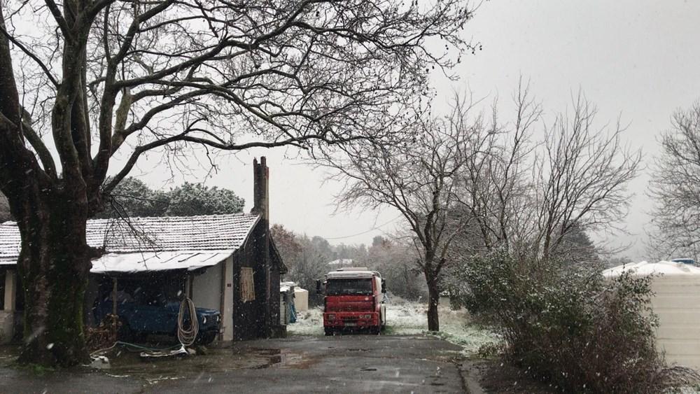 İstanbul'da beklenen kar yağışı başladı - 10
