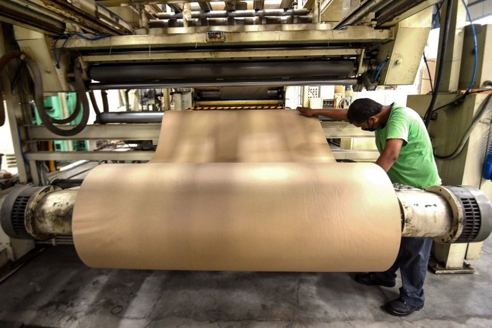 Hindistan'da Covid-19'a karşı karton yatak çözümü - 12
