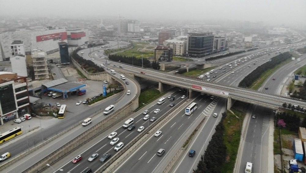 İstanbul'da, 'tam kapanma' öncesinde kaçış trafiği - 16