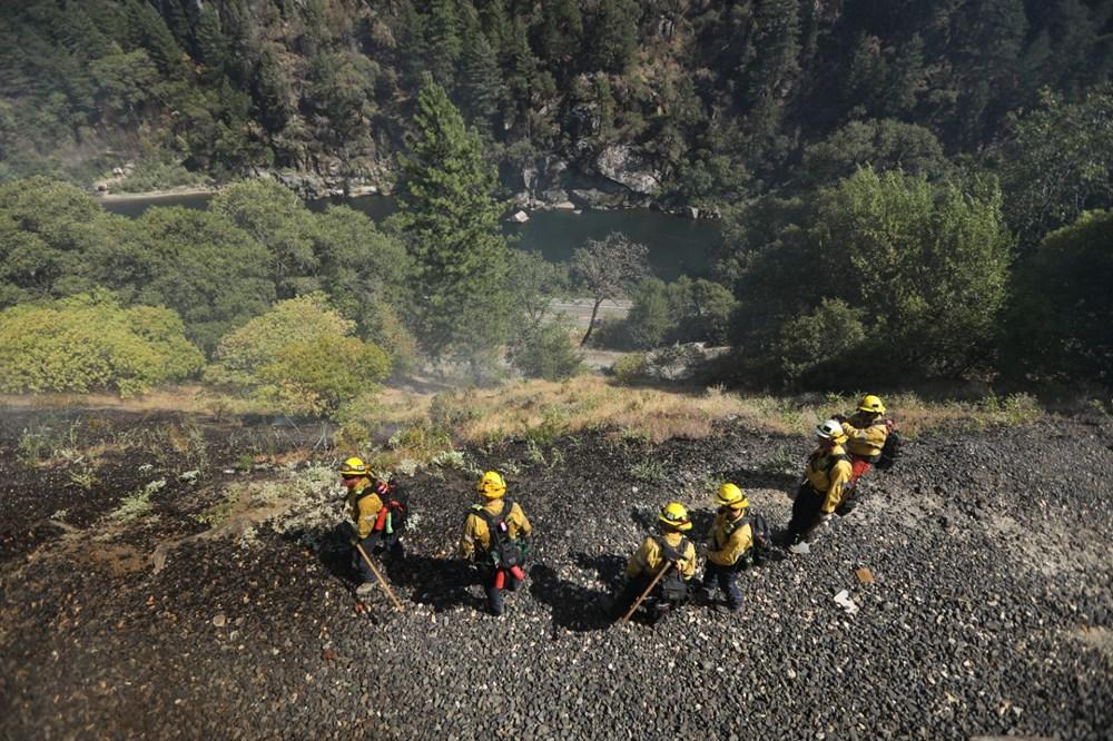 ABD'deki yangın 82 kilometreye yayıldı - 7