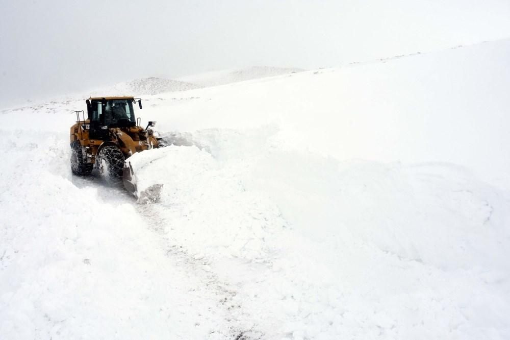 'Kar kaplanları'nın 5 metre karla mücadelesi - 4