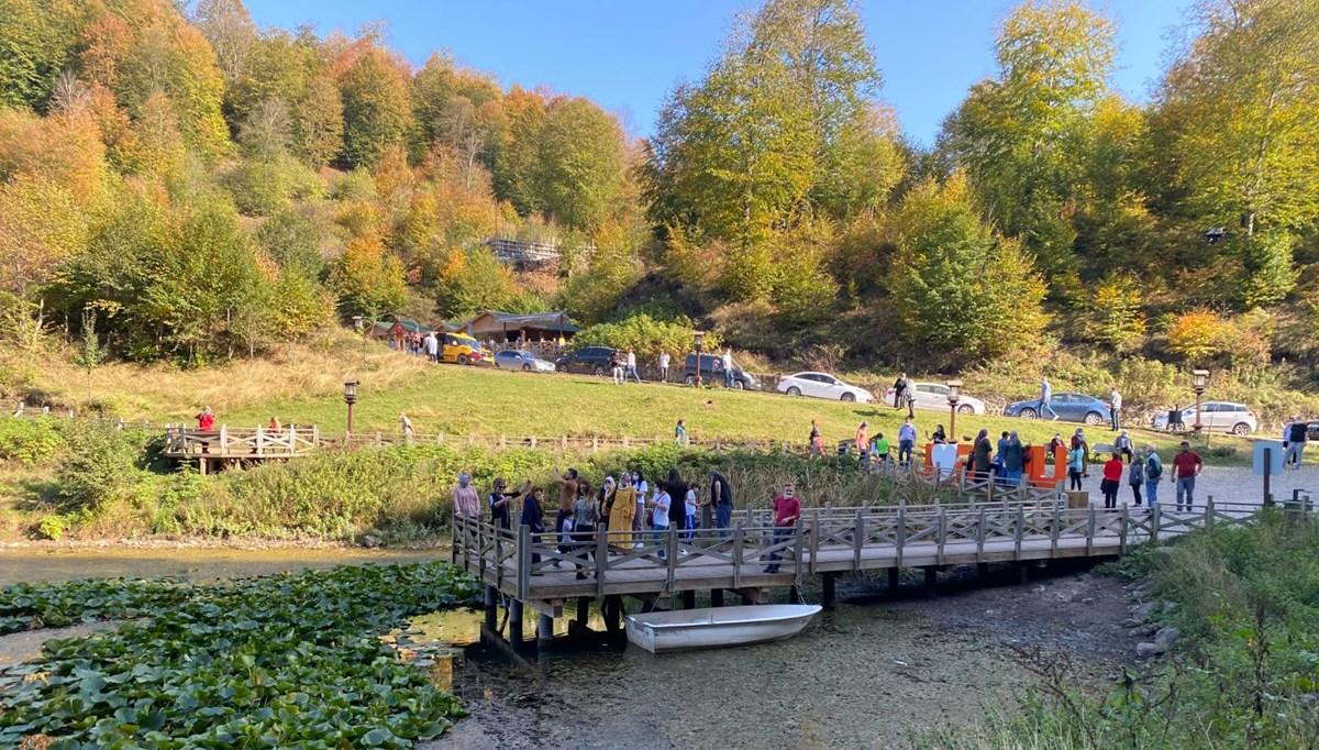 Ordu'da doğa harikası Ulugöl'e ziyaretçi akını
