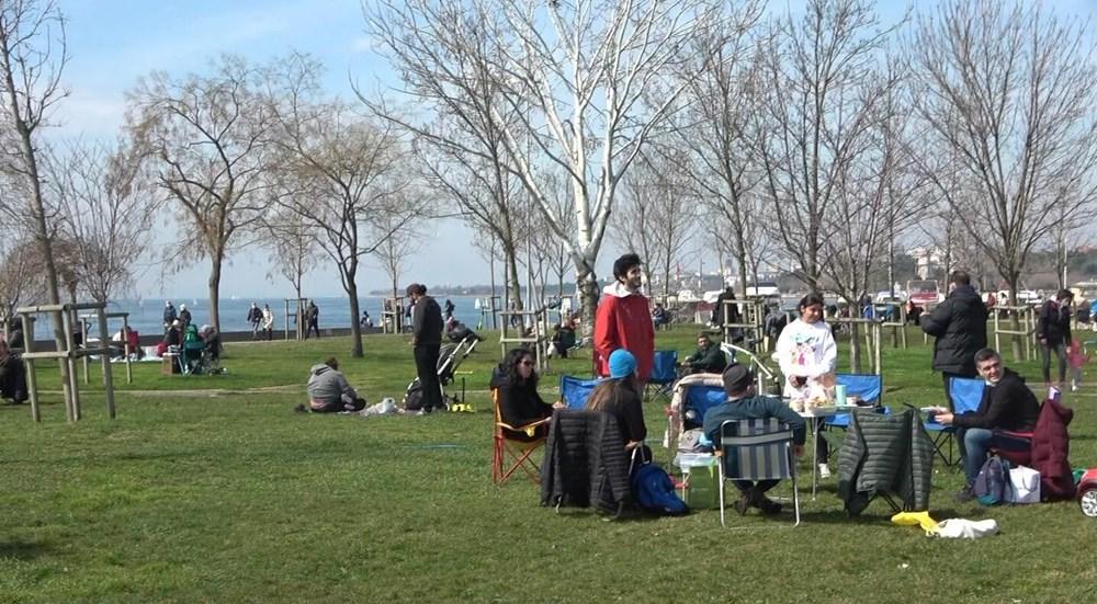Kademeli normalleşmede 2. hafta sonu: Sahil ve parklar doldu - 5