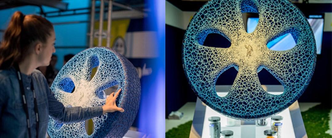 Michelin geleceğin lastiğini 3D yazıcı teknolojisi ile üretti