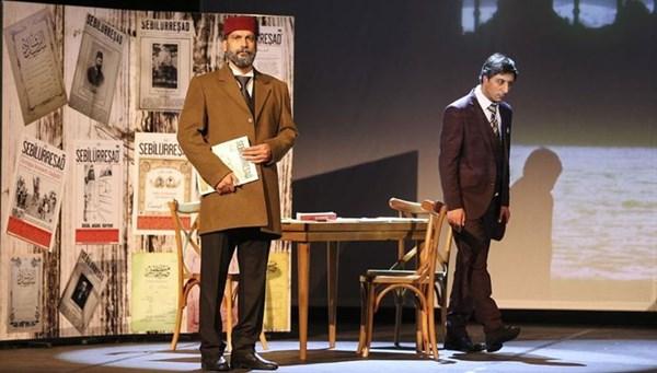 Mehmet Akif Ersoy'un hayatı tiyatro sahnesinde