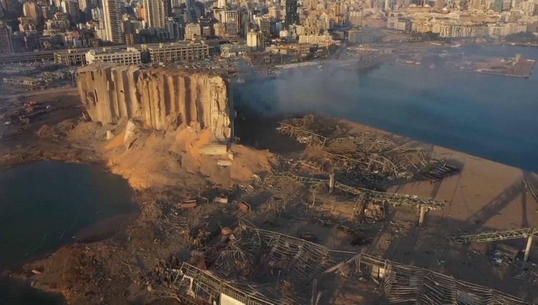 Patlamanın ardından Beyrut